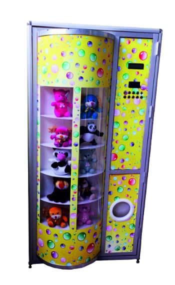 Автоматы мягких игрушек