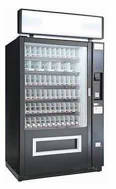 Снековый торговый автомат SM 6367 LONG