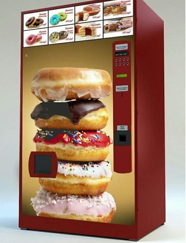 Автомат для продажи пончиков