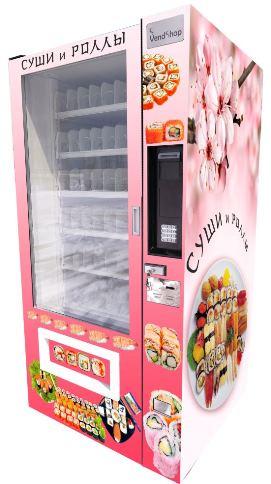 Автомат по продаже суши
