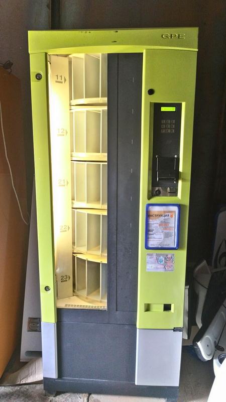 Карусельный снек автомат GPE Vendors DFD/3C